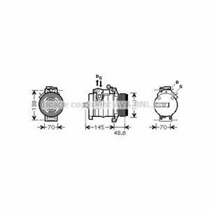Kompressor, Klimaanlage  PRASCO  BWAK334