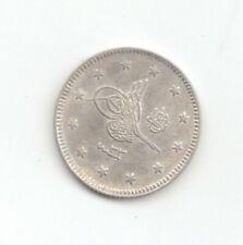 Turkey Silver 1907 2 Kurush-Lot E16