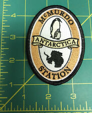 McMurdo Station Antarctica Embroidered Patch - we ship worldwide! New Unused