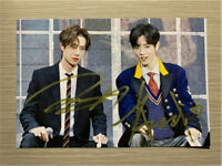 Signed The Untamed Wang Yibo Xiao Zhan Autographed Photo Gifts 王一博 肖战亲笔签名照片