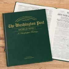 World War I Newspaper Book