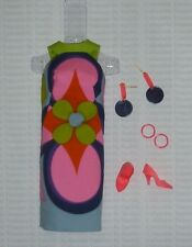 Barbie Repro / Reproduction MOD Flower Power Fashion ~ Unboxed ~ Free U.S Ship