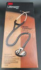 3m Littmann Master Cardiology 27 Diagnostic Stethescope Ref 2160 Black