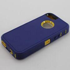 Apple iPhone 5s 5se Case & Screen Protector | Belt Clip fits Otterbox Defender