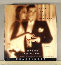 WHEN WE WERE ORPHANS by KAZUO ISHIGURO ~ 9 CD UNABRIDGED AUDIOBOOK SET FREE SHIP