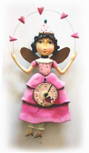 CLOCK - NOVELTY - PRINCESS ELLA BELLA