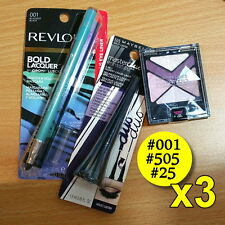 Mixed Pack, Revlon Bold Lacquer Mascara 001 + Master Duo 505 + Eye Studio 25