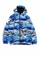 Molo outdoor-chaqueta con capucha 140 azul-tonos Huskies niños chaqueta Boys Kids niños