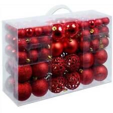 Bakaji 02815986 Palline per Albero di Natale Set di 100 - Rosse