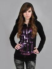 Abbey Dawn purple what the hell hoodie L