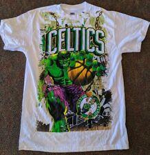 Boston Celtics Marvel Hulk Mashup Licensed Men's T-Shirt New XXL
