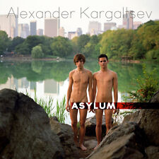 ASYLUM BOOK gay interest flexibound nude man, signed by author