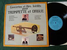 ALAIN LOUSTALOT & JEAN PAUL LECOT : Concertos TROMPETTE & ORGUE - LP AGORILA