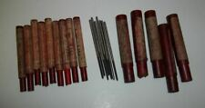 Lot of 21 HSS Reamers- .1253, 6 & 4 Flue- Some Unused, Cleveland Twist Drill
