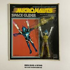1976 MEGO Micronauts 71001 Space Glider Gold MOC Sealed