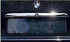 Kofferraum CHROM Zierleiste EDELSTAHL für BMW E36 3er