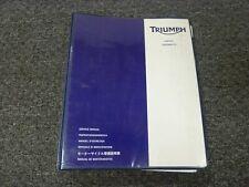 2003-2007 Triumph Speedmaster Motorcycle Service Repair Manual 2004 2005 2006