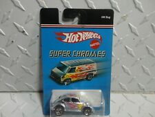 Hot Wheels Super Chromes Volkswagen Bug W/Fiamme