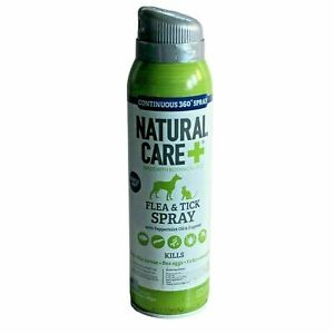 Natural Care Flea & Tick Spray For Dogs And Cats Flea Treatment Flea Killer 14oz
