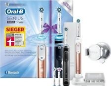 Braun Oral-B Genius 9900 cepillo de dientes eléctrico 2 piezas de mano Rosegold + Negro