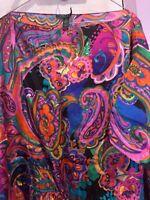 Ralph Lauren Silk Blouse Size XL