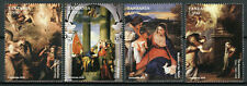 More details for tanzania christmas stamps 2015 mnh titian paintings madonna & child 4v set