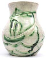 Art Deco Edward Radford Scraffiato Studio Ware Art Pottery Vase Circa 1920