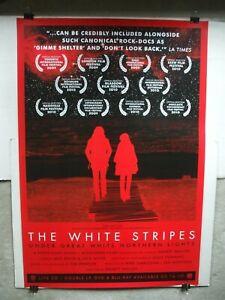 The White Stripes giant poster Under Great White Northern Lights 2010 Meg & Jack