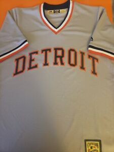 New Majestic Detroit Tigers MLB cool base Cooperstown jersey men's Size Small