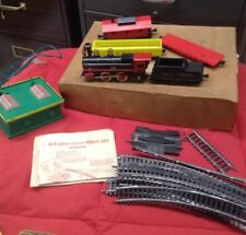 Vintage Marx Train Set Valley Express Cars, Track, Papers