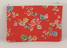 Cath Kidston Woodland Rose Fabric Handmade Zippy Coin Purse Storage Pouch