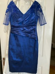 Ispirato Royal Blue Mother of the Bride / Groom / Wedding Guest Dress Size 12
