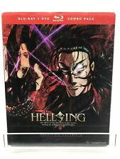 New Hellsing Ultimate, Vols. 9  10 (Blu-ray/DVD, 2014, 3-Disc Set) Slip Cover