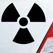 Pegatinas auto Atom radiactividad fuerza atómica nuclear castor sticker 196