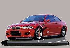 VOITURE MINIATURE, BMW E46-s3-02  en horloge