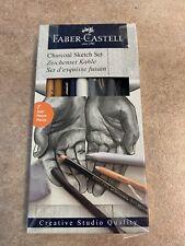 Faber-Castell Graphite Sketch Set, 8 piece set,New!