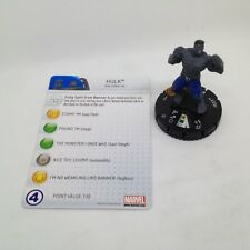 Heroclix Galactic Guardians set Hulk #102 Limited Edition figure w/card!