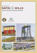 Ratio & Wills 905 - 00 & N Gauge Model Railway Plastic Kit Catalogue - 1st Post