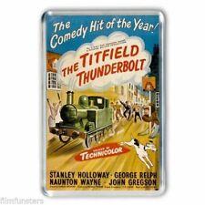 50's NOSTALGIA JOHN GREGSON in the  ' TITFIELD THUNDERBOLT' JUMBO Fridge Magnet