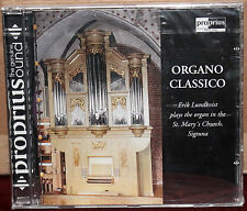 PROPRIUS CD PRCD-2024: ERIK LUNDKVIST - Organo Classico - 2002 Sweden SEALED