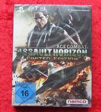 Ace Combat Assault Horizon Limited Edition, PlayStation 3 Spiel, Neu deutsche V.