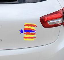 Vinilo pegatina bandera #944# ESTELADA NÚMERO 2 REFLECTANTE coches motos cascos