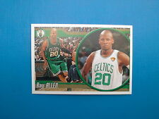 2010-11 Panini NBA Sticker Collection n.  9 Ray Allen Boston Celtics