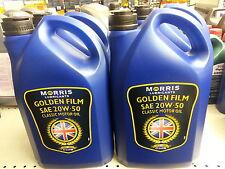 Morris Golden Film SAE 20w50 20LT Classic Motor Oil 5 Litre 4 X 5 LT