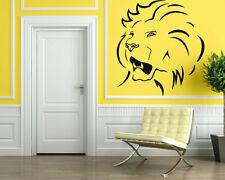 Wall Stickers Vinyl Decal Lion Predator Power Animal Rage Wall Decor Mural ig048