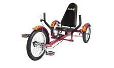 New Mobo Kids RED Triton Tricycle 3 Wheel Child Cruiser Bike