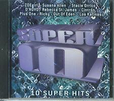 Super 10 SEALED NEW CD 10 Super Hits Various Artists CCM 2001 Vida Music