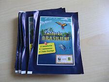 """EDEKA WWF-Sticker-2014 """"Entdecke Brasilien"""" 24 verschiedene Sammelbilder"""