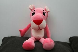 """15"""" 1 Pcs Gift Cute Plush Pink Panther Leopard Cartoon Doll Toy for Kids baby US"""