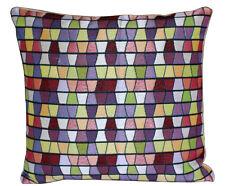 Multicolore Azteca Stampa A Quadri 16 X 16 Copricuscino Cuscino per Divano Letto